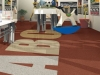 Mannington rubber flooring tiles