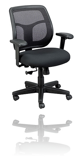 Apollo office mesh task chair black