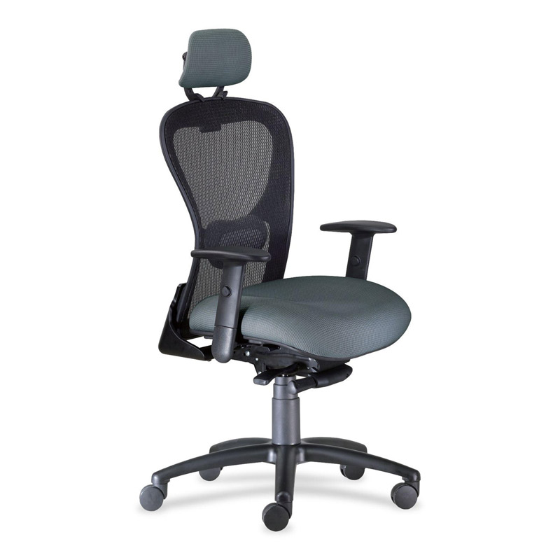 High back mesh office chair with black-accents Strata 9-to-5 seating