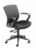 Nightingale VXO conference mesh chair with fixed arms - 7280L