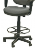Drafting fabric stool chair oss400wdsk500 Eurotech