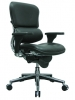 Ergohuman black leather multi-function desk chair