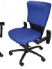 Law enforcement police officer task chair shield buzz seating