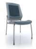 Mesh back fabric contemporary guest chair bodyflex Eurotech