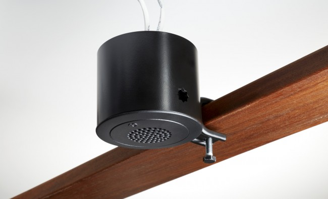 Quiet technology white noise sound masking beam mount (black finish)