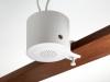Quiet technology white noise sound masking beam (white finish)