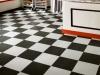 Armstrong chromaspin custom vct flooring retail installation