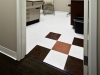 Medical resilient VCT tiles designer essentials Mannington