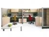 Artopex freestanding modular desk system Uni-T