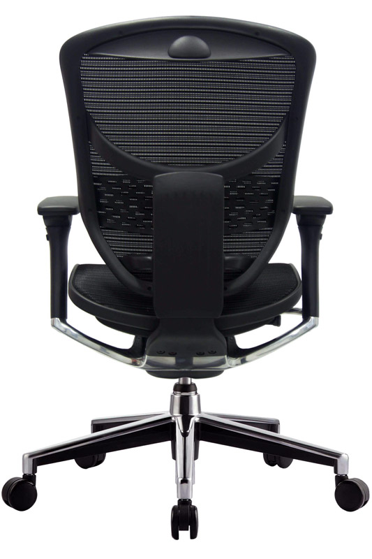 buy eurotech concept 20 black mesh desk chair online