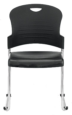 Buy Eurotech Aire S5000 Black Stacking Side Chair