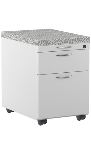 Charmant Buy Great Openings Cushion Top Mobile Pedestal File Cabinet