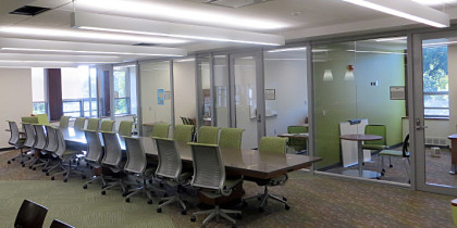 Demountable walls installation glass offices by Office One
