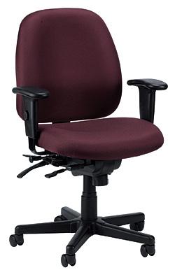 ... Burgundy Fabric Task Chair   Eurotech 4x4SL Multifunction ...