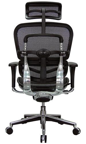 ... Eurotech Ergohuman Mesh Ergonomic High Back Chair With Head Rest ...
