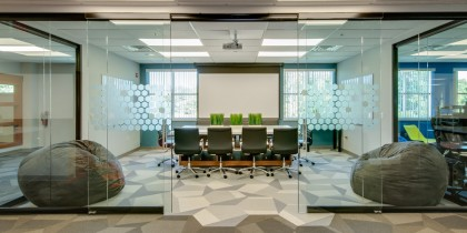 Office One Demountable Glass Wall Installation Technology Company