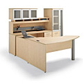 Buy Wood Desks, Laminate Desks, Office Suites, and L-shaped Desks from www.myofficeone.com