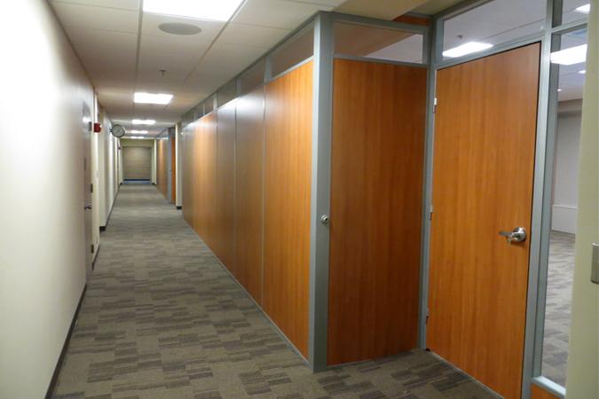Demountable Walls Raised Flooring Installation For