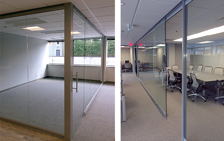 NxtWall - View Series glass office walls by Office One