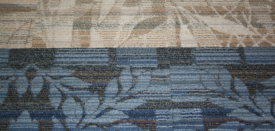 Interface Floor Carpet Tile Detail Image - Office One Hall Rennovation Project