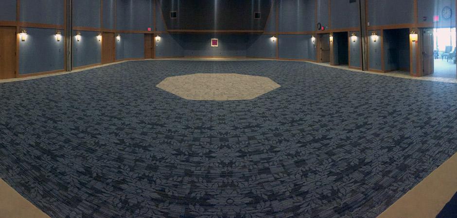 Floor covering installation - Interface carpet tile - Biodiversity color Delta