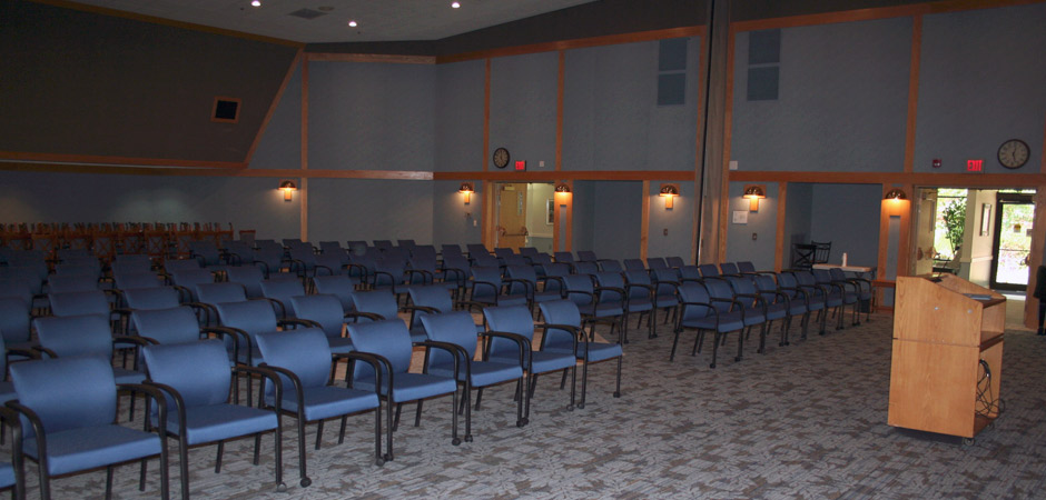 Event seating - Fabric guest chairs with black frame