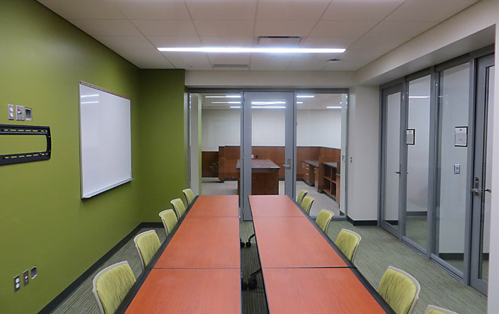 Glass Conference Room Walls by Office One