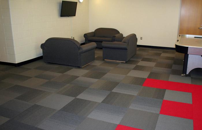 Michigan Flooring Installation at University (Matrix Carpet Tiles - Interface)