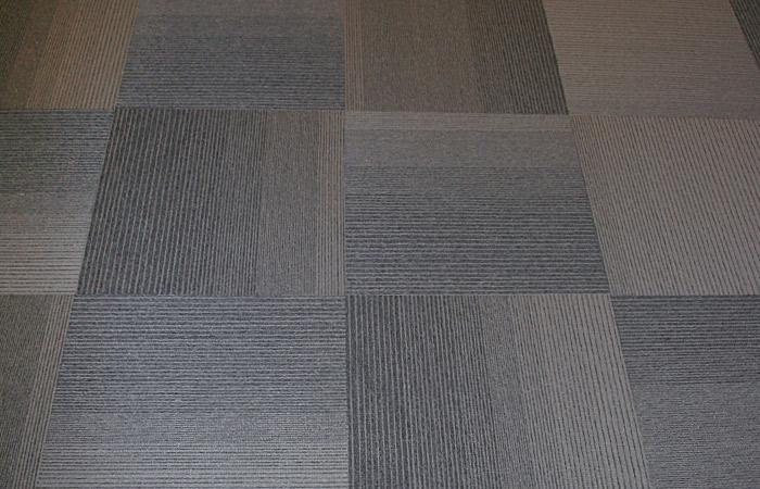 Interface Matrix Carpet Tile Installation Image - Quarter Turned