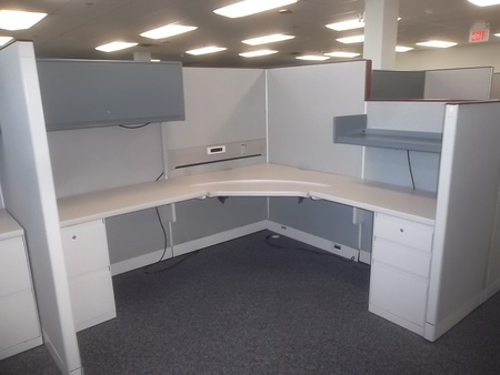 Preowned, Used Office Cubicles systems furniture