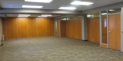 Raised flooring and demountable walls by Office One